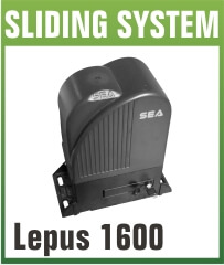 Lepus 1600 Heavy Duty Sliding Gate Opener