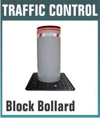 Block Automatic Rising Bollard